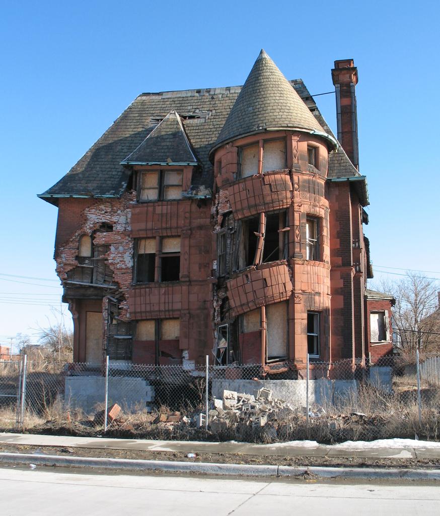 William Livingstone House Brush Park Detroit Flickr