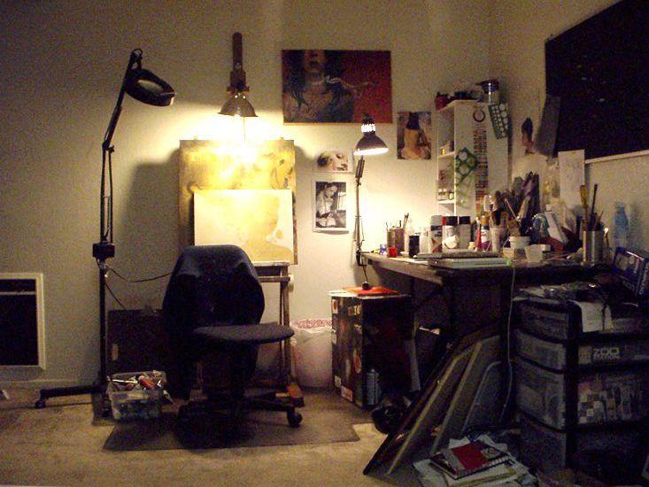 behind bedroom doors sylvia ji 39 s studio by thinkspace gallery
