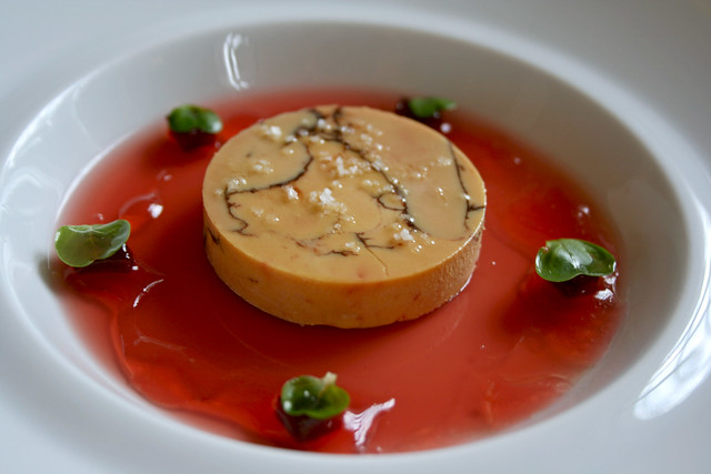 Foie Gras Torchon with Venezuelan Cocoa and Quince | Flickr - Photo ...