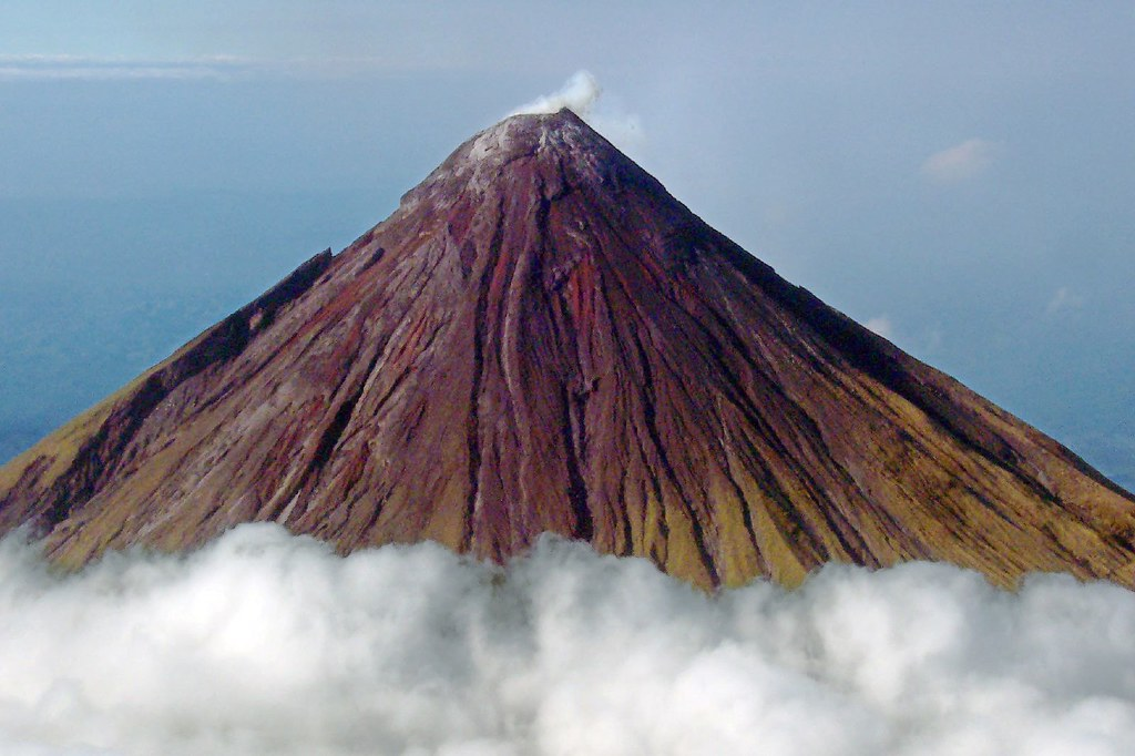 Composite Cone Volcano : Physical geography exam flashcards by proprofs