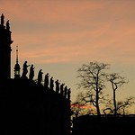 Catholic Church (Catholic Hofkirche) at Sunset - Dresden, Germany