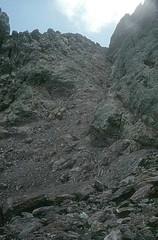 Le couloir W de la Brèche des Géologues