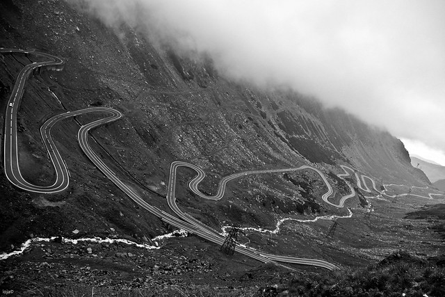 Transfagarasan          My favorite road to drive, on the planet. Transfagarasan, better than Stelvio Pass, or Passo dello Stelvio, I think.