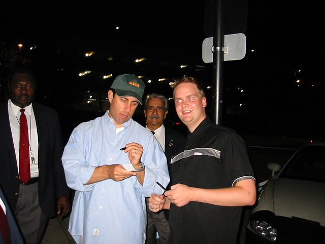 Jerry Seinfeld and myself