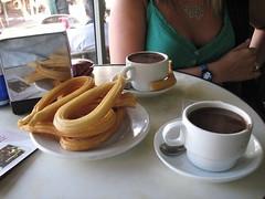 meal(0.0), drink(0.0), breakfast(1.0), baking(1.0), food(1.0), dish(1.0), cuisine(1.0), snack food(1.0), churro(1.0),