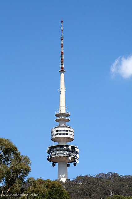 Telstra Tower Canberra Flickr Photo Sharing