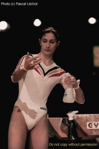 Maria OLARU - Romanian Gymnast Champion