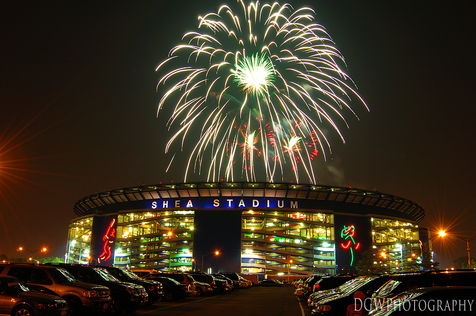Fireworks Over Shea Stadium