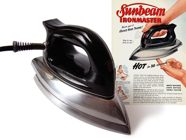 Sunbeam Ironmaster model A-4A, 1948