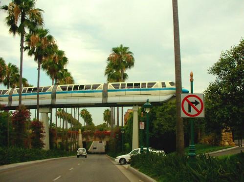 Disneyland Monorail by Zeetz Jones