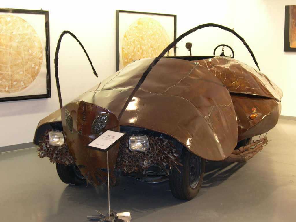 Art Car Museum >> Art Car Museum The Roachster By Kenny Browning And Noah E