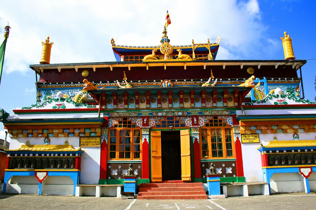 Yiga Choeling Monastery in Ghoom