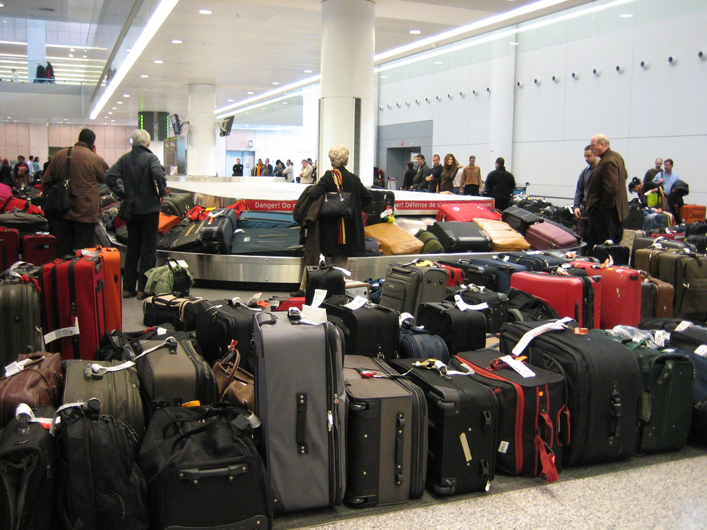 Luggage Mountain