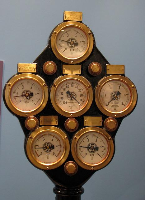 Photo - Steampunk pressure gauge ...