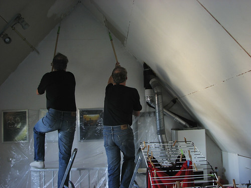 painting your roof
