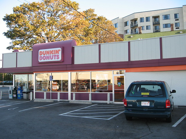 The first Dunkin' Donuts
