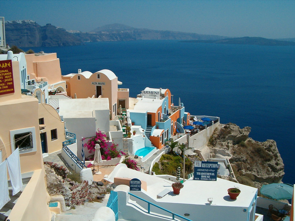 Greece: Isle of Santorini (Cyclades) - Oia