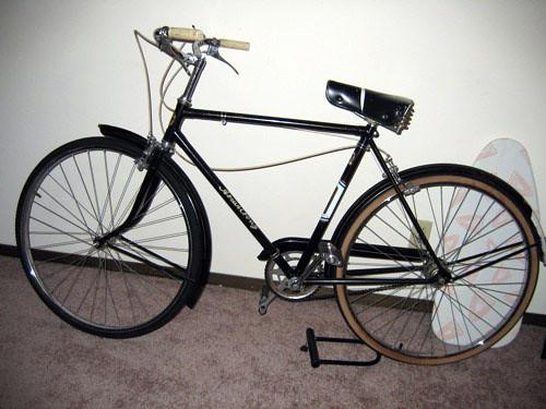 Joakim's ex-bike