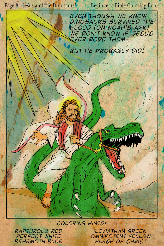Beginner's Bible Coloring Book!