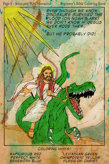 Christopher Hitchens Gets To Wrassle With Both Dinosaur Jesus And Dinosaur Orwell At The Same Time
