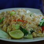 Koh tao le port notre déjeuner à 9h00am