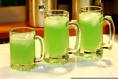 home made green lemonade for not st patricks day    …