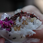 Purple Sticky Rice Snack - Mekong Delta, Vietnam