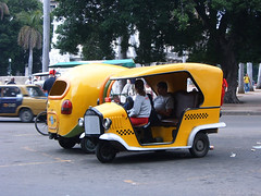 Coco Taxis in Havana