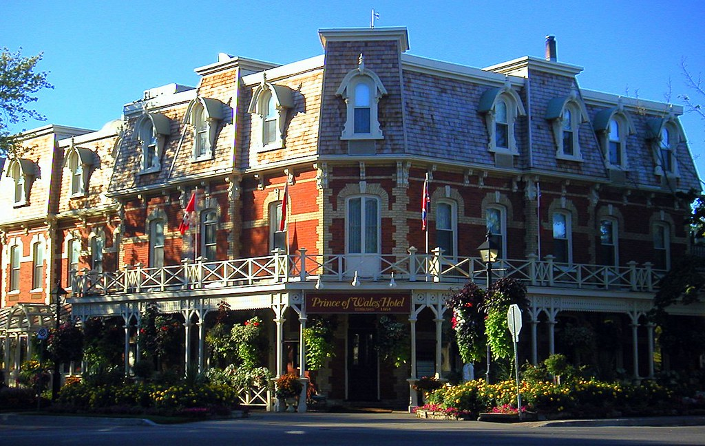 the prince of wales hotel niagara on the lake ontario. Black Bedroom Furniture Sets. Home Design Ideas