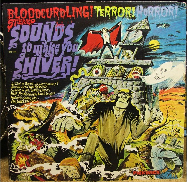 Sounds to Make You Shiver, LP Record Front Cover - 1970's