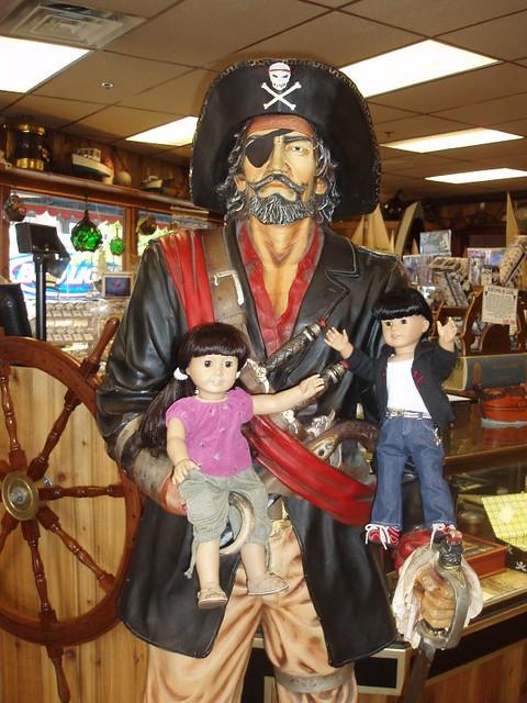Yo Ho Ho and an armful of... dolls