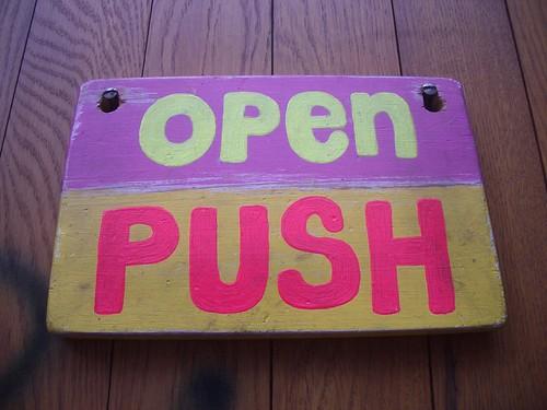 Open Push (Oklahoma, Manchester)