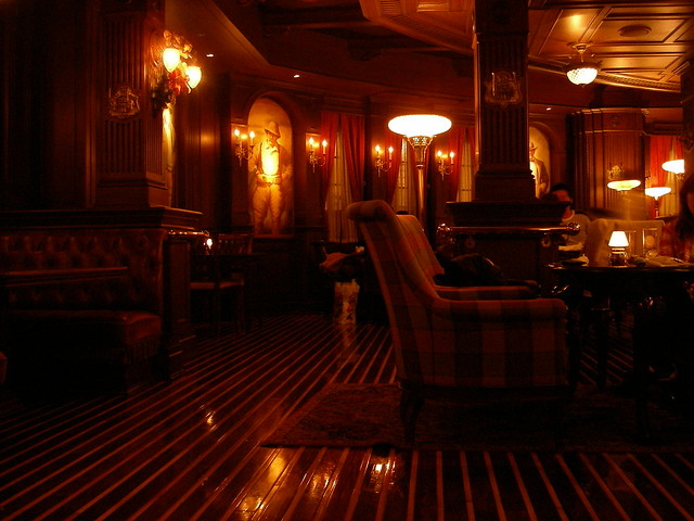 Tokyo Disney Sea - The Teddy Roosevelt Lounge