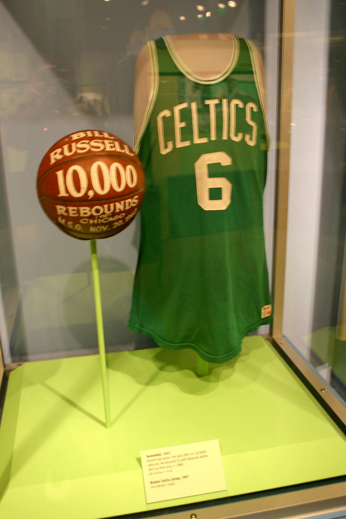 5c171298b ... Bill Russell Boston Celtics Basketball Jersey
