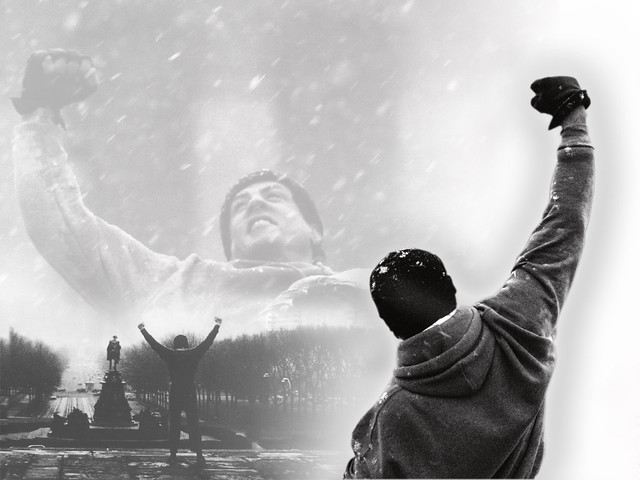 Rocky balboa wallpaper a cool simple wallpaper for all ro flickr - Rocky wallpaper with quotes ...