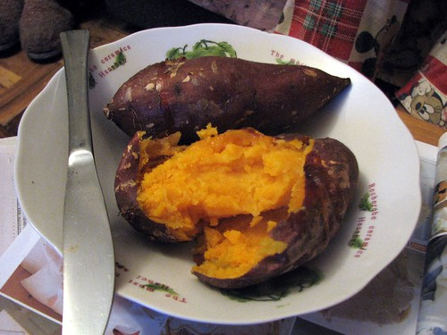 Home-baked sweet potato | by Micah Sittig