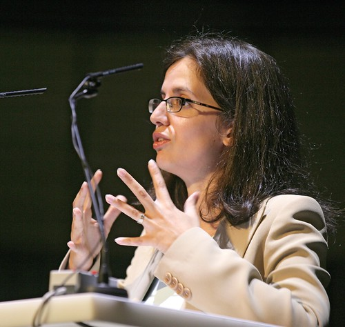 Dr Beatriz Garcia speaks at the third World Summit on Arts and Culture