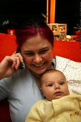 rachel and sequoia on the phone with aunt megan    M…
