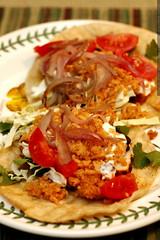 home made ahi fish tacos    MG 0379
