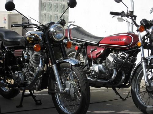 Royal Enfield & Kawasaki