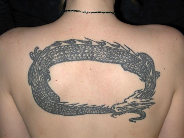 Dragon tattoo 1 flickr photo sharing for Sacred art tattoo corvallis