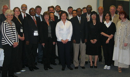 CEO Leadership Seminar delegates