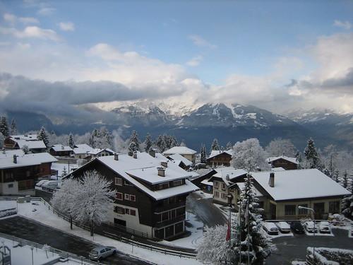 Weekend skiing in Villars