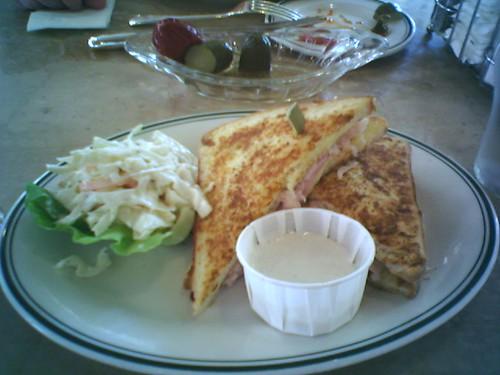 Monte Cristo sandwich at Seah Street Deli