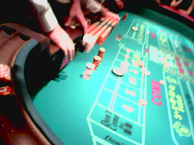A Craps Table