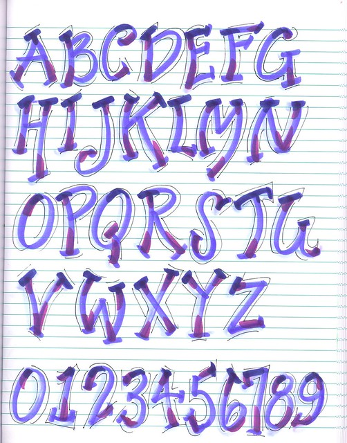 New Alphabet | Creative Lettering, Brush Lettering | By ...