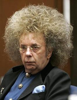 Phil Spector Has Crazy Hair