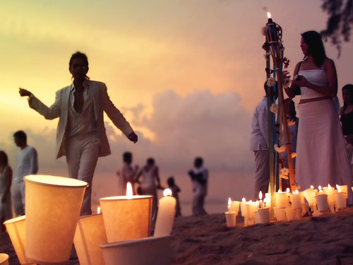 This type of themed wedding does not need to take