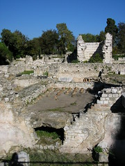 Roman ruins in Nice, France