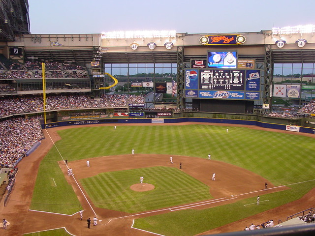 Miller park from the terrace level flickr photo sharing for Terrace level
